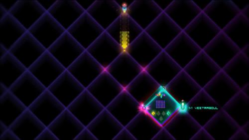 Map screenshot of Octahedron video game interface.