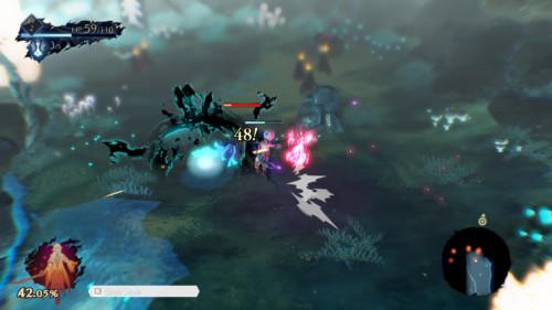 Enemies screenshot of Oninaki video game interface.