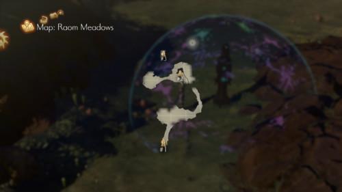 Map screenshot of Oninaki video game interface.