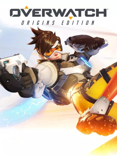 Cover media of Overwatch video game.