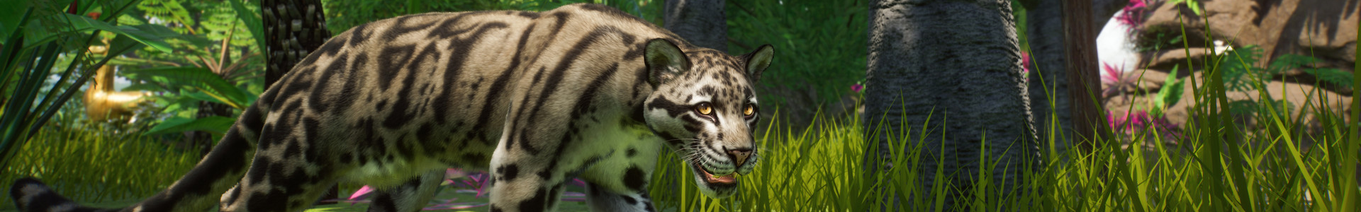 Banner media of Planet Zoo video game.