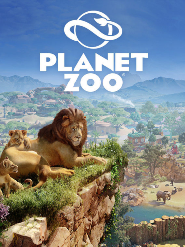 Cover media of Planet Zoo video game.