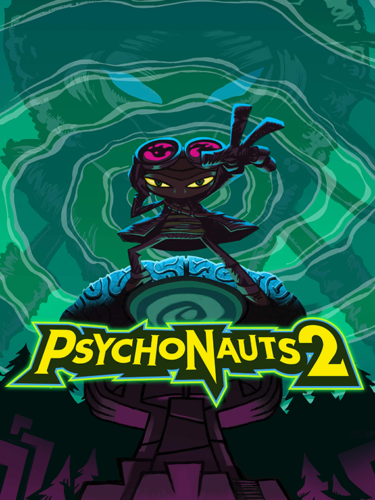 Cover media of Psychonauts 2 video game.