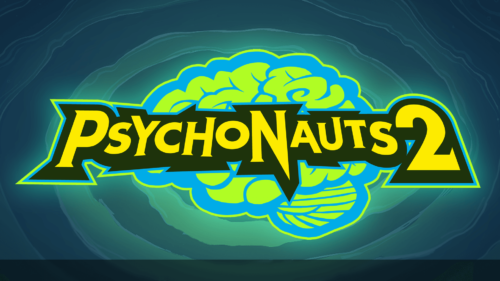 Logo screenshot of Psychonauts 2 video game interface.