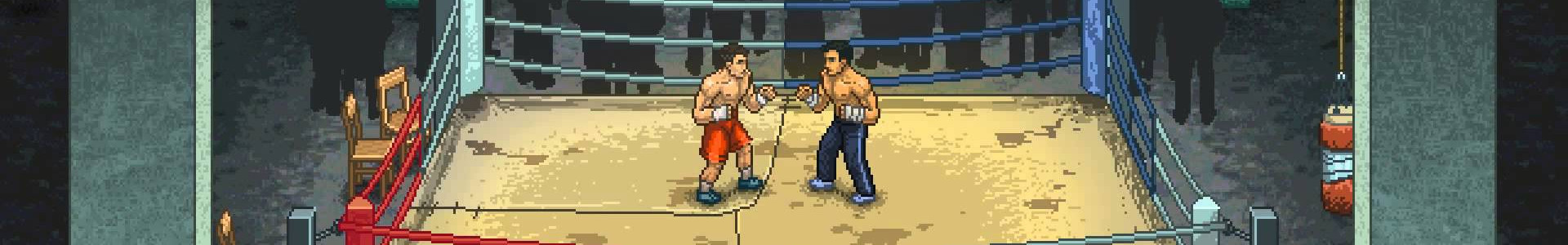Banner media of Punch Club video game.