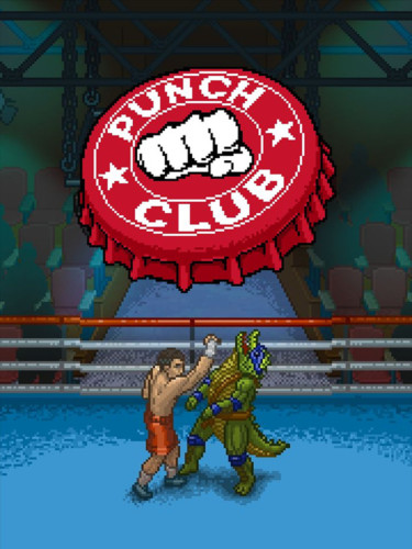 Cover media of Punch Club video game.