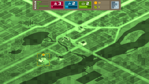 Research map screenshot of Punch Club video game interface.