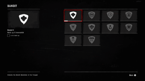 Challenges screenshot of Red Dead Redemption 2 video game interface.
