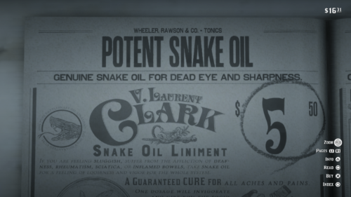 Store screenshot of Red Dead Redemption 2 video game interface.