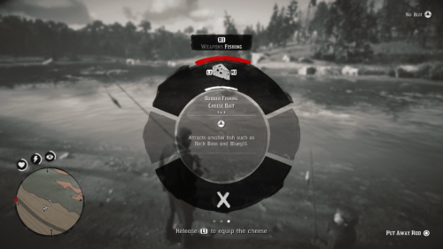 Ability Wheel screenshot of Red Dead Redemption 2 video game interface.