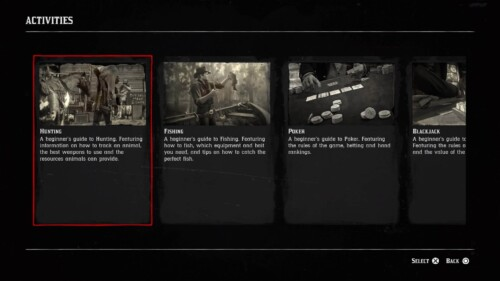 Achievements screenshot of Red Dead Redemption 2 video game interface.
