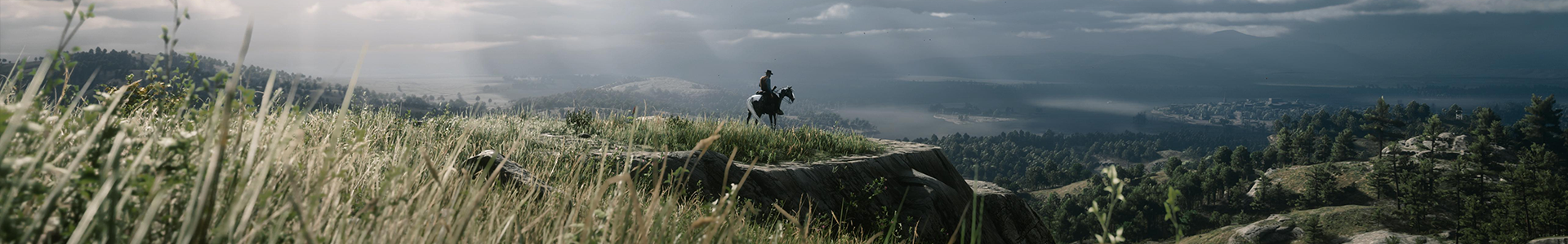 Banner media of Red Dead Redemption 2 video game.