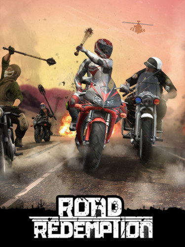 Cover media of Road Redemption video game.