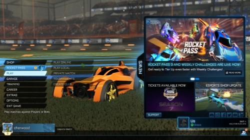 rocket-league-main-menu