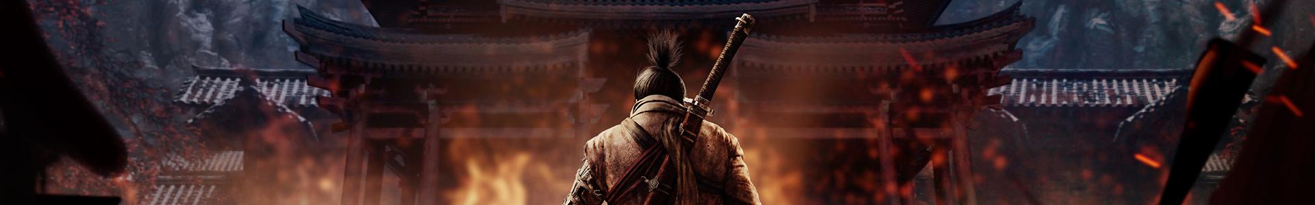 Banner media of Sekiro: Shadows Die Twice video game.