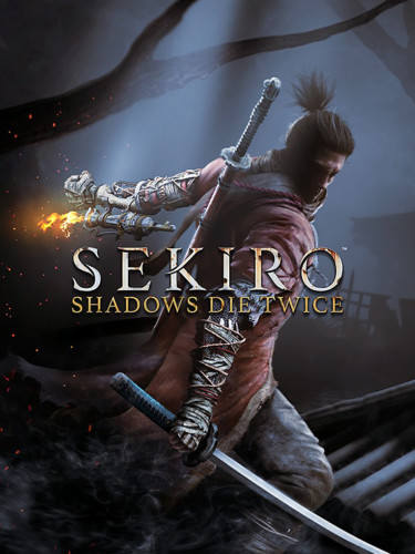 Cover media of Sekiro: Shadows Die Twice video game.