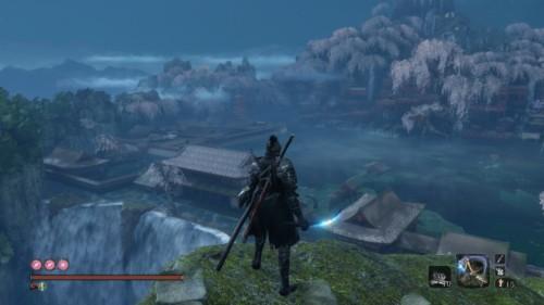 In game screenshot of Sekiro: Shadows Die Twice video game interface.