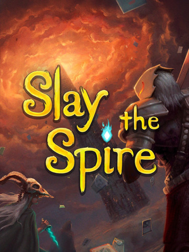 Cover media of Slay the Spire video game.