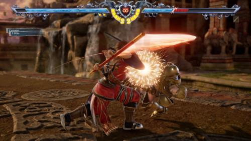 Counter screenshot of SoulCalibur VI video game interface.