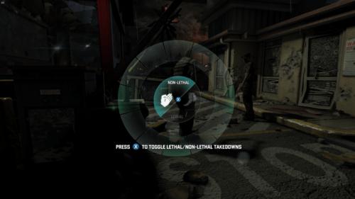 Ability Wheel screenshot of Splinter Cell: Blacklist video game interface.