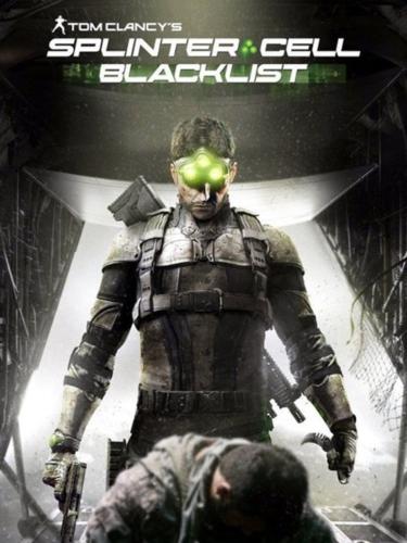 Cover media of Splinter Cell: Blacklist video game.