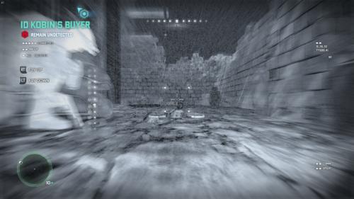 Drone View screenshot of Splinter Cell: Blacklist video game interface.