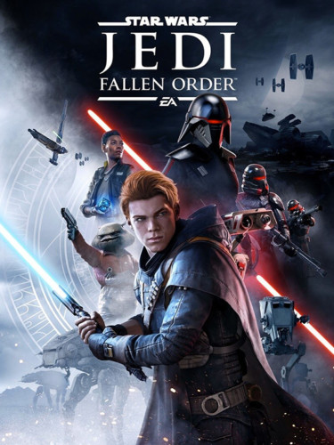 Cover media of Star Wars Jedi: Fallen Order video game.