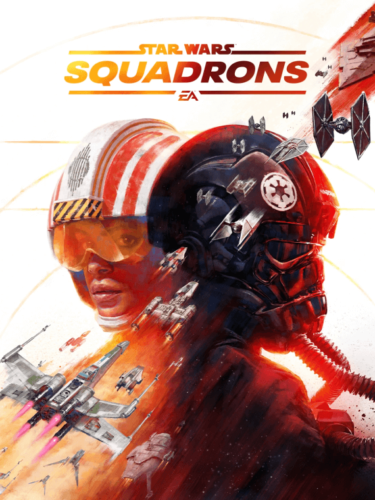Cover media of Star Wars: Squadrons video game.
