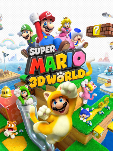 Cover media of Super Mario 3D World video game.