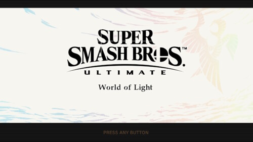 Campaign World of Light screenshot of Super Smash Bros. Ultimate video game interface.