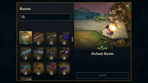 Booms screenshot of Teamfight Tactics Mobile video game interface.