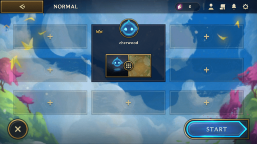 Lobby screenshot of Teamfight Tactics Mobile video game interface.