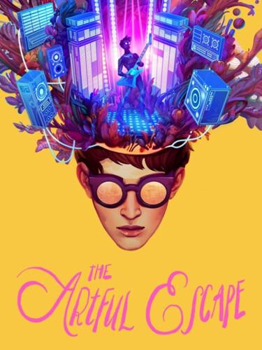 Cover media of The Artful Escape video game.