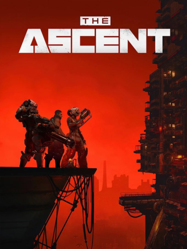 Cover media of The Ascent video game.