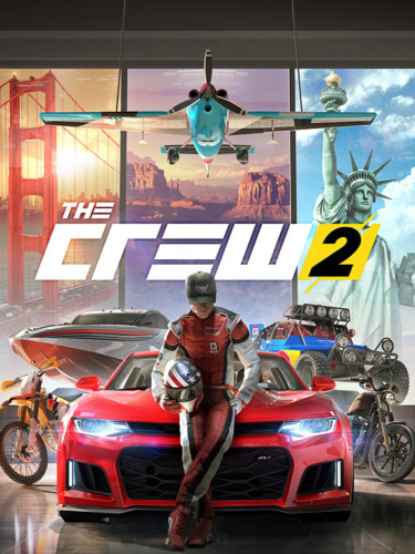Cover media of The Crew 2 video game.