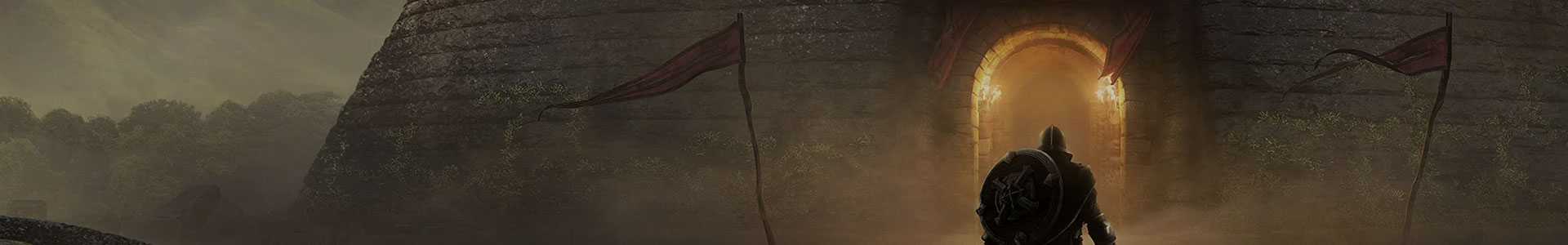 Banner media of The Elder Scrolls: Blades video game.