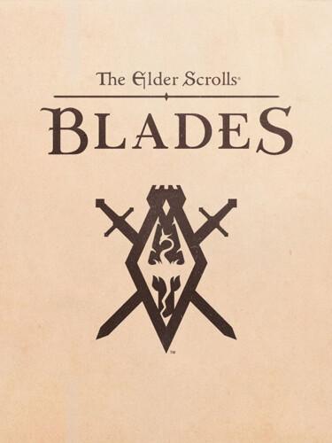 Cover media of The Elder Scrolls: Blades video game.
