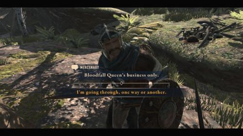 Dialogue screenshot of The Elder Scrolls: Blades video game interface.