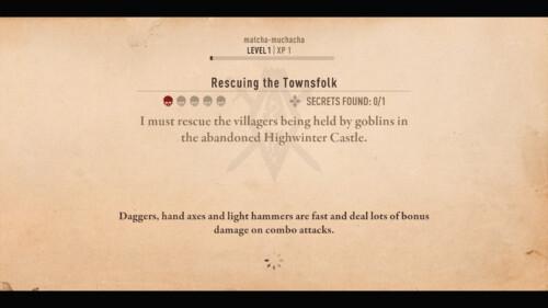 Quest Loading Screen screenshot of The Elder Scrolls: Blades video game interface.