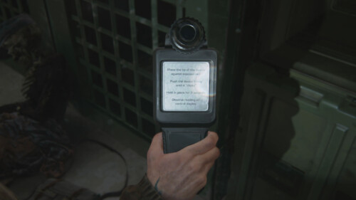 Inspecting Artifact Flipped screenshot of The Last of Us Part II video game interface.
