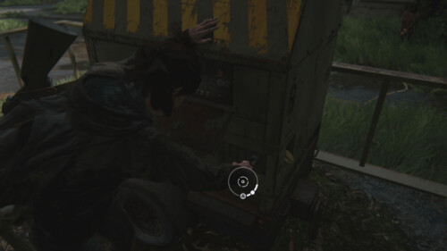 Minigame Generator screenshot of The Last of Us Part II video game interface.
