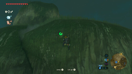 Endurance screenshot of The Legend of Zelda: Breath of the Wild video game interface.