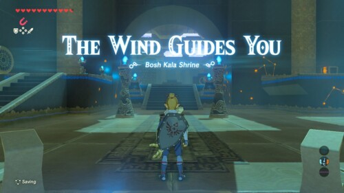 Temple screenshot of The Legend of Zelda: Breath of the Wild video game interface.