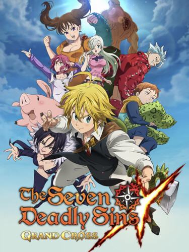Cover media of The Seven Deadly Sins: Grand Cross video game.