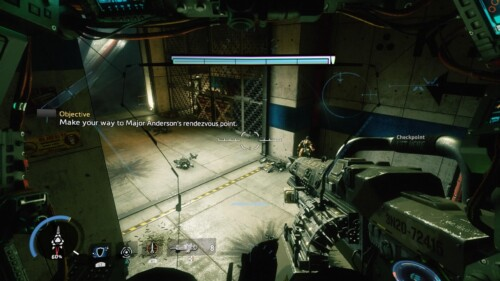 Objective Message screenshot of Titanfall 2 video game interface.