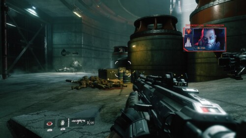 Pilot HUD screenshot of Titanfall 2 video game interface.