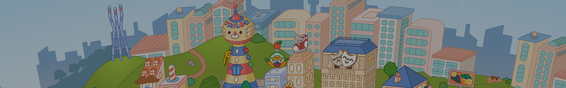 Banner media of Toca Life World video game.