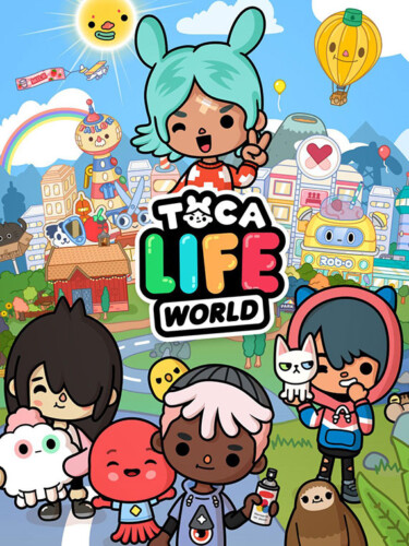 Cover media of Toca Life World video game.