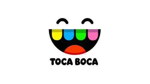 Toca Boca Logo screenshot of Toca Life World video game interface.
