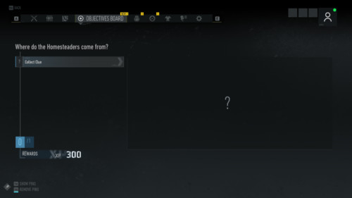 Collect clue screenshot of Tom Clancy's Ghost Recon: Breakpoint video game interface.